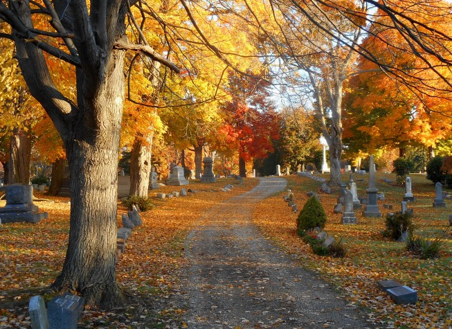 cemetery-fall-colors