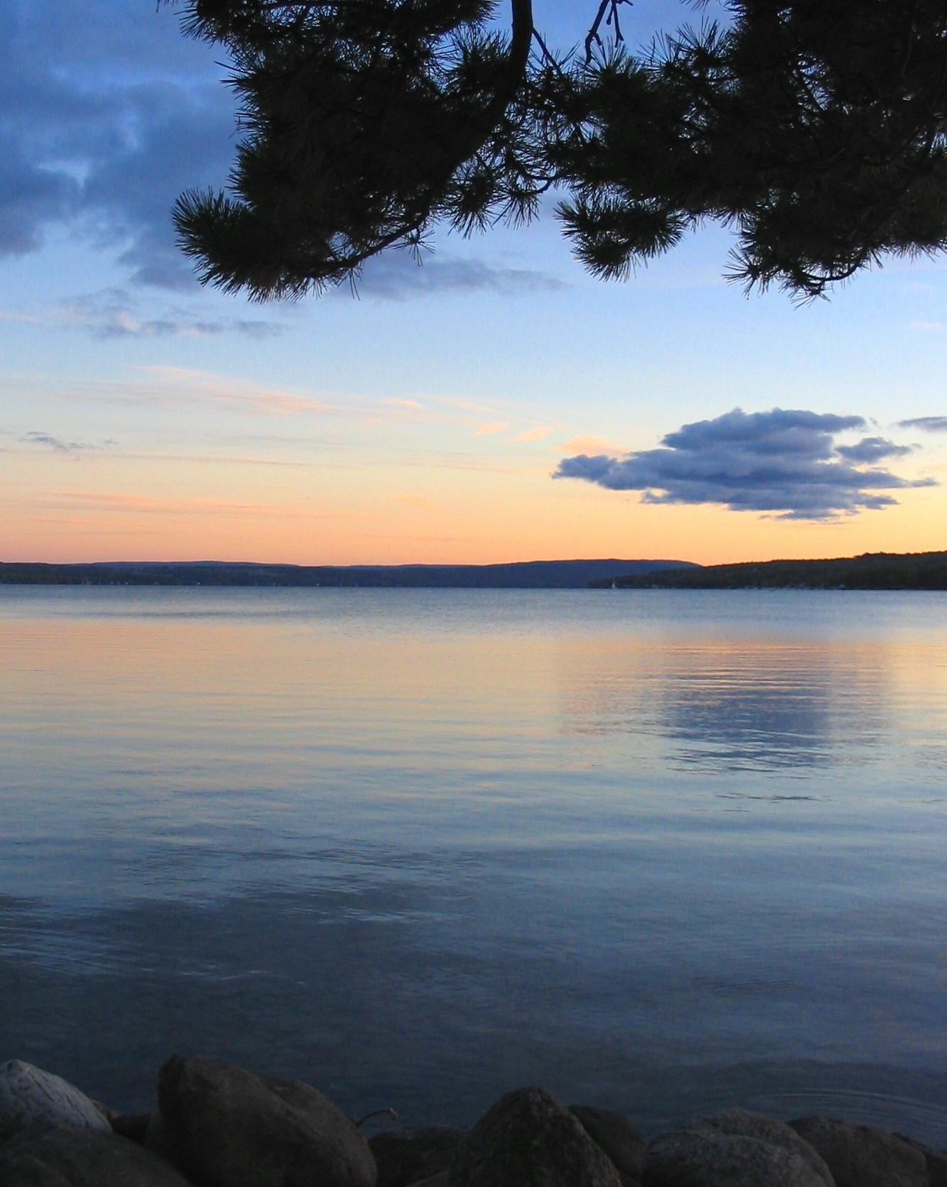 Keuka Lake Sunset