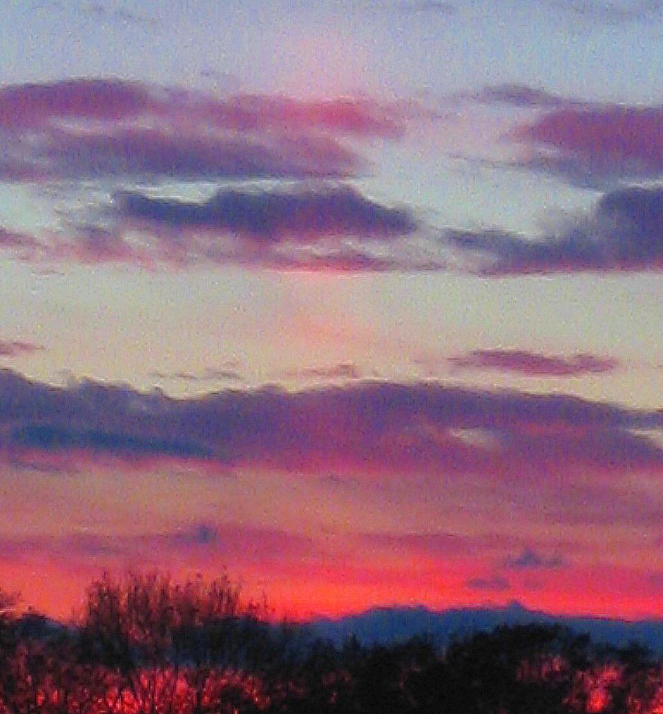 PInk Sunset Ray