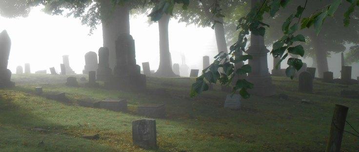 Cemetery Old Mist
