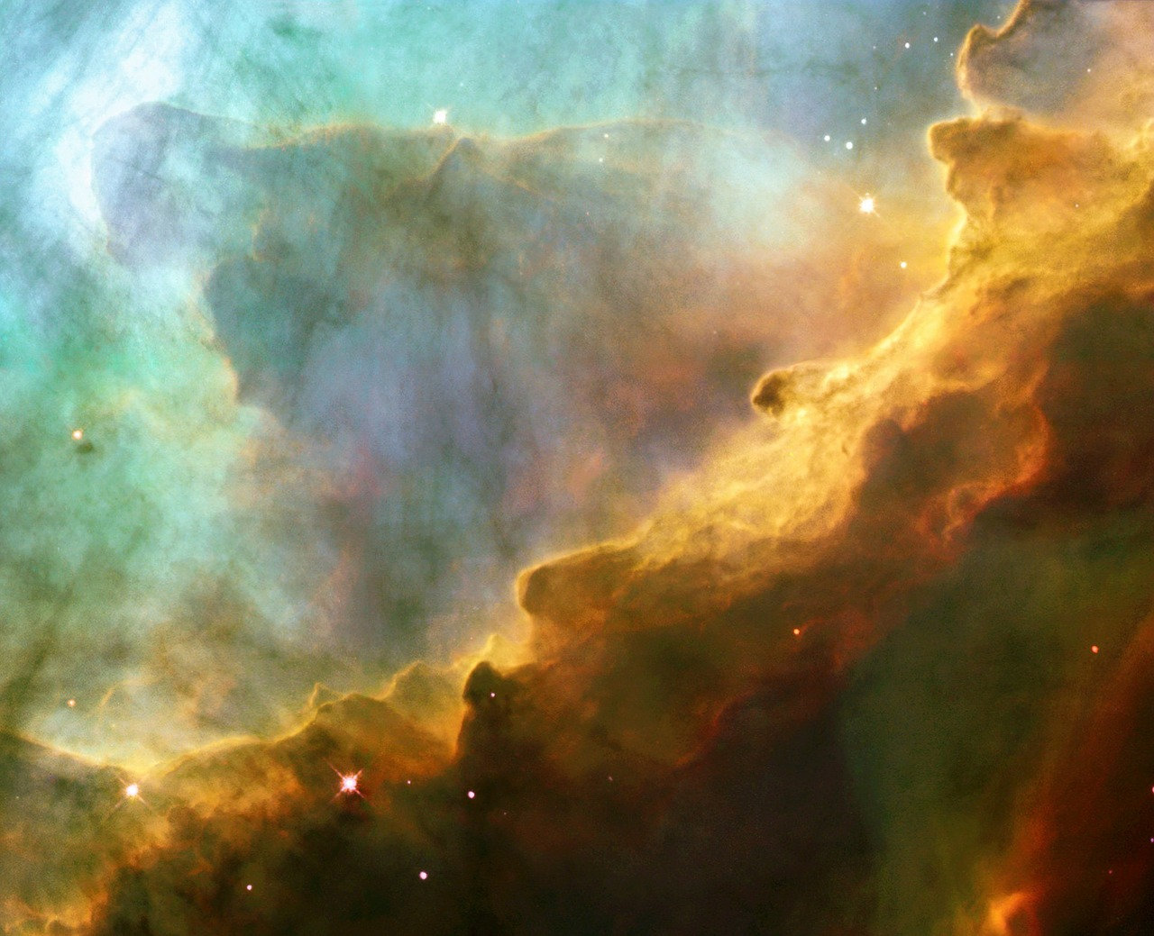 Omega Nebula Close
