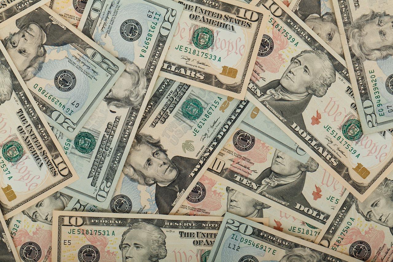 Money Scattered