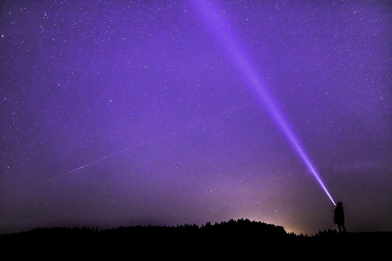 Night Sky Flashlight